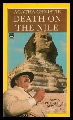 Death on the Nile - Agatha Christie, 1978 Fontana edition with cover art from the film which was released the same year.