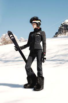 Fendi apresenta coleção irresistível para os amantes da neve - Vogue   News