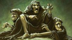Forkidy [Graeae] - strażniczki Gorgon