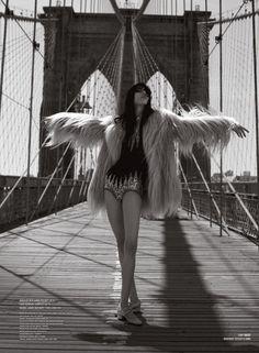 Jamie Bochert for V Magazine // #Celebrity #Model