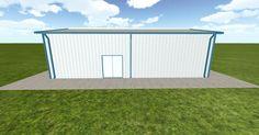 Dream #steelbuilding built using the #MuellerInc web-based 3D #design tool http://ift.tt/1PWtZVo