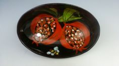 LITTLE OVAL BOWL. Little Oval Bowl with by SharonMirandaPottery