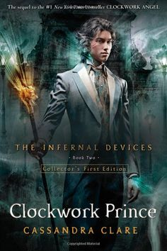 The Clockwork Prince is the 2nd book in The Infernal Devices trilogy, a young adult fantasy set in London in  1878 - written by Cassandra Clare.