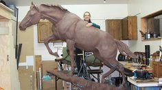 Statue of Korean War horse Reckless to be unveiled at Marine museum in Virginia