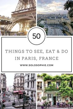 50 Things to See, Eat & Do in Paris, France #travelwithkids #kidsactivities #familytravel