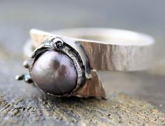 Pearl Ring Steel Grey by Specimental