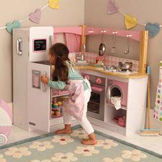 Gourmet Wooden Play Kitchen