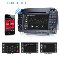 Seicane S127509 16G 1998-2005 Mercedes Benz S Class W220 S280 S320 S320 S400 Android 4.4.4 GPS Navigation In Car DVD System bluetooth