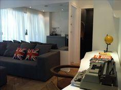 decoração de apartamento de 50m2 - Pesquisa Google