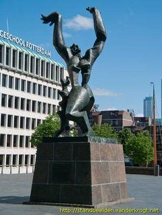 Rotterdam -  De Verwoeste Stad