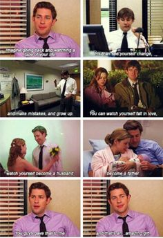 the office jim & pam The Office Finale, The Office Show, Office Tv, The Office Jim, Best Tv Shows, Best Shows Ever, Favorite Tv Shows, Parks N Rec, Parks And Recreation