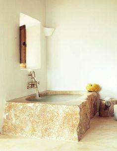 Stone Tub. Badewanne ...