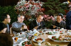 ourpresidents: Dinner Diplomacy Thaws the Cold War Sometimes...
