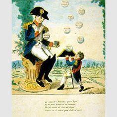 Napoleón juega con las pompas de jabón / Sala VIII - Mito y sátira / Percursos por salas - Museo Napoleonico