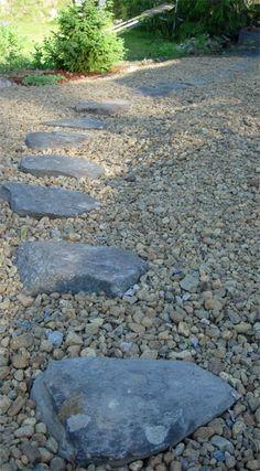 Kivisen Vilman piha Stepping Stones, Concrete, Outdoor Decor, Home Decor, Homemade Home Decor, Interior Design, Home Interiors, Decoration Home, Home Decoration