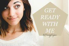 Hair and makeup tutorial.