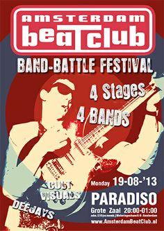 "Amsterdam BeatClub ""Band Battle Festival"", Paradiso 2013"