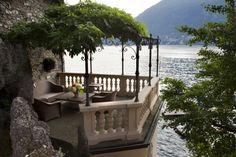 piccola veranda sul lago.. nido d'amore..