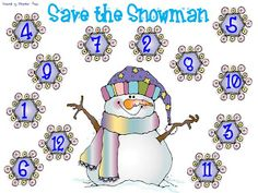 Save the Snowman game