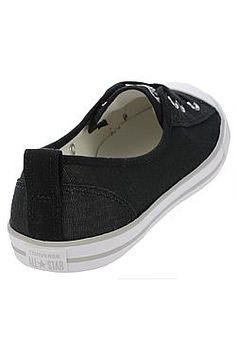 boty Converse Chuck Taylor All Star Ballet Lace Slip - 555869 Black White  d6454644e5