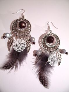Jewerly, Ethnic, Creations, African, Drop Earrings, Etsy, Inspired, Handmade, Crafts