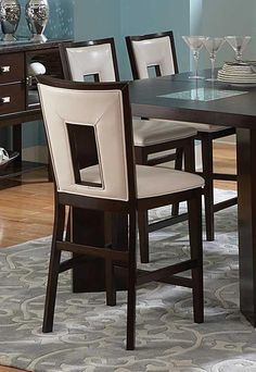 Stvsi DE800 Delano Barstool With cut Out Back