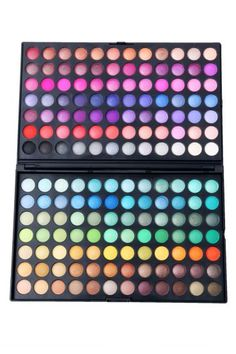 168 Color Makeup Cosmetics Eyeshadow Palette - Sheinside.com Mobile Site