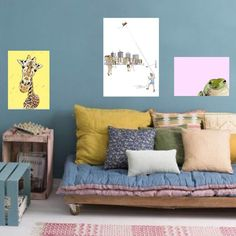 Find You Summer Favs and Refresh Your Walls with Style. Get Inspired by Art Of Linea. Wall Art Prints, Fine Art Prints, Triptych Wall Art, Urban Decor, Giraffe Art, Cityscape Art, Modern Wall Art, Decoration, Fine Art Paper