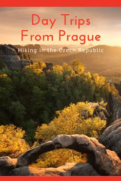 Best Day Trips from Prague: There are a lot of beautiful places to experience in the Czech Republic but nothing quite like Bohemian Switzerland. Despite the confusing name this Czech national park is a must for anyone who loves the outdoors or craves fresh air during their trip to Prague.
