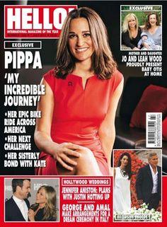 HELLO! – 7 July 2014 Pippa Middleton