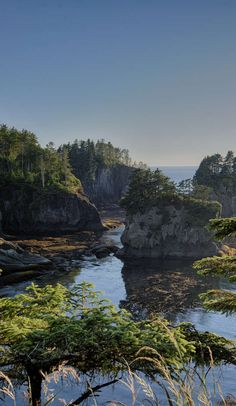 The Olympic Peninsula Loop is an unbelievable adventure on Roadtrippers.                                                 Washington State coastal area.