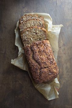 This healthy Coconut Pecan Banana Bread may be the best I've ever made! There is so much toasty, crunchy flavor from the coconut top and the pecans within. Baking Recipes, Whole Food Recipes, Dessert Recipes, Bread Recipes, Vitamix Recipes, Oven Recipes, Dessert Ideas, Muffins, Coconut Pecan