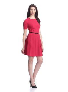 Nicole Miller Women's Crepe Fit and Flare Dress, http://www.myhabit.com/redirect/ref=qd_sw_dp_pi_li?url=http%3A%2F%2Fwww.myhabit.com%2F%3F%23page%3Dd%26dept%3Dwomen%26sale%3DABI0DAL37H3MB%26asin%3DB00ET090D0%26cAsin%3DB00ET093T6 US 385 por 99
