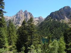 Sant Maurici National Park in the Pyrenees, Spain