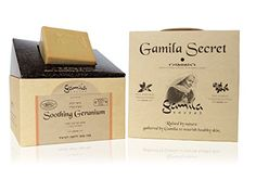 Gamila Secret Cream Bar Soothing Geranium 115g *** Check this awesome product by going to the link at the image. (Note:Amazon affiliate link)