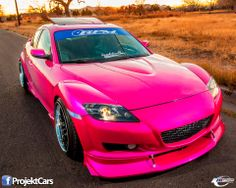 Tuned Mazda RX-8  To be by my husbands side ;)