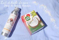 Mes soins cheveux : le lait et l'huile de coco
