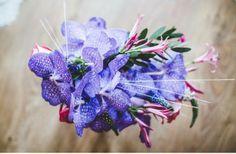 gorgeous orchid bridal bouquet