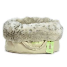 Dog Winter Accessories - Ready for the Chill? | Australian Dog Lover - The Puppy Pods are made from 'luxury fashion' fur and are the perfect winter retreat for medium-sized breeds between 4-12kg.