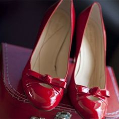 Red Wedding Details Red Wedding Details- Red Shoes – The Knot