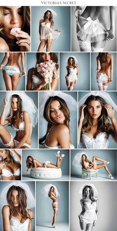 Vitoria Secret. Bridal colection.