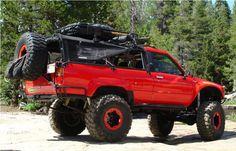 Off road adventure Toyota Pickup 4x4, Toyota Trucks, 4x4 Trucks, Toyota Prerunner, Toyota Hilux, 1st Gen 4runner, Nissan 4x4, Truck Tattoo, Tacoma Truck