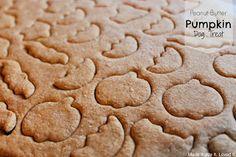 homemade peanut butter pumpkin dog treats