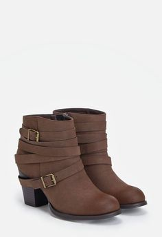 Carli Schuhe in Braun - günstig kaufen bei JustFab