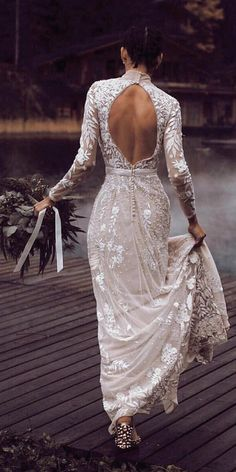 Illusion Long Sleeve Wedding Dresses Youll Like ★ See more: https://weddingdressesguide.com/illusion-long-sleeve-wedding-dresses/ #bridalgown #weddingdress
