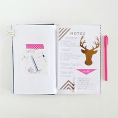 planner art journal page by hopscotchlane at @studio_calico