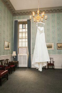 Elizabeth's Dress Elizabeth and David's wedding at The Racquet Club of Philadelphia