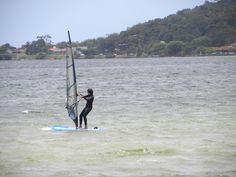 Windsurf na Lagoa