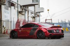 Liberty Walk Body Kit for Audi R8