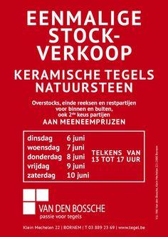 Stockverkoop tegels Bornem -- Bornem -- 06/06-10/06